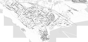 Карта Пикалёво